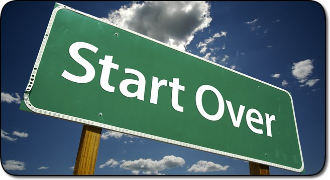 Starting over you up for it riding with the top down - The house in which life starts over ...
